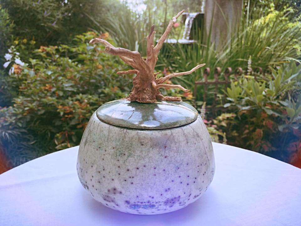 Raku Pottery by Suzi Wilson