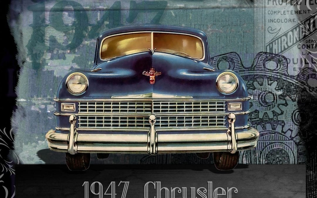 Cruise In Classic Car Inspired Art