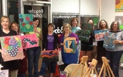 Introductory Sip-n-Doodle Class