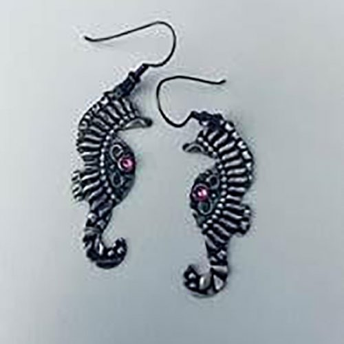 Fancy Seahorse Earrings