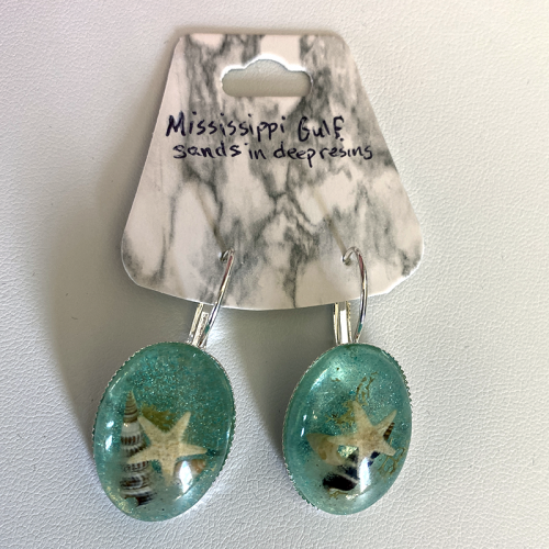 Mississippi Gulf Sand Earrings