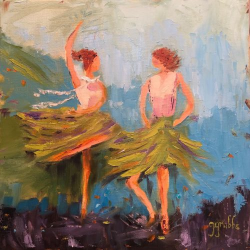 Dancing in the Limelight painting
